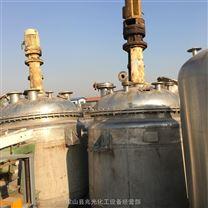 二手蒸汽加熱導熱油加熱不銹鋼反應釜8000L