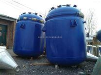 大量回收二手3吨电加热搪瓷反应釜