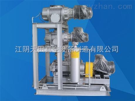 气冷罗茨螺杆泵真空机组产品简介