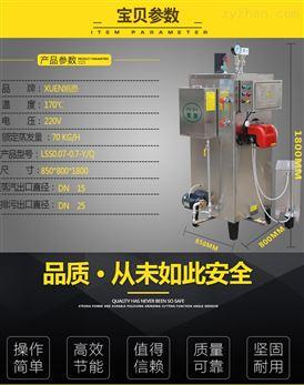 旭恩70KG柴油蒸汽发生器保护重视