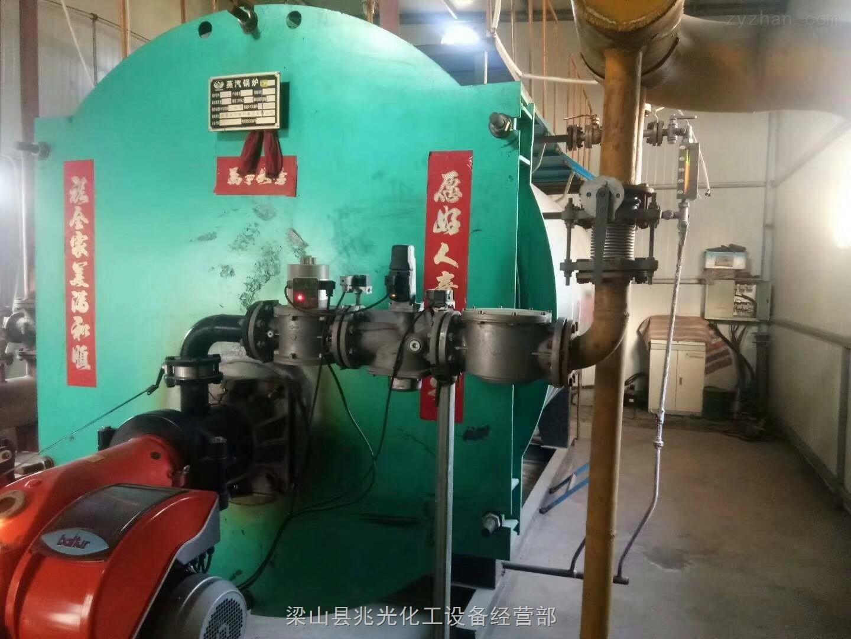 二手1吨/4吨燃气燃油蒸汽锅炉附件手续都有