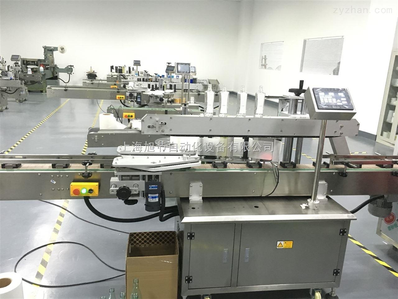 钙片瓶双面/单面贴标机 贴商标机器
