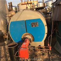 手续全二手2吨卧式燃气燃油蒸汽锅炉