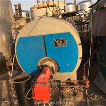 手續全二手2噸臥式燃氣燃油蒸汽鍋爐