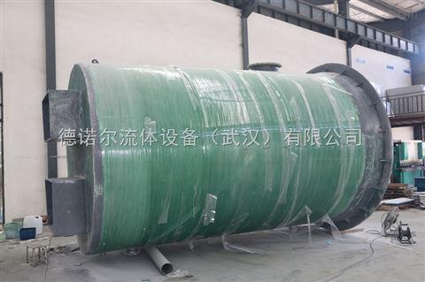 市政排污 智能型一体化预制排水泵站 品
