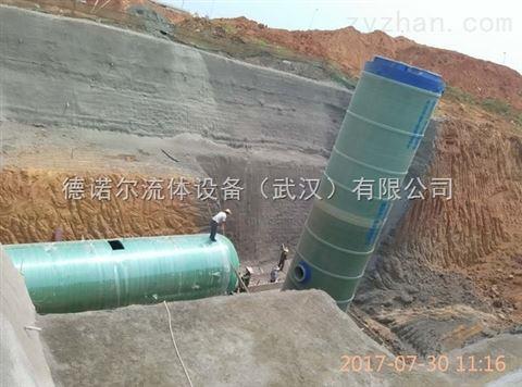 一体化生活污水提升泵站 无人值守远程操控
