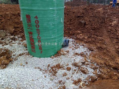 一体化污水提升泵站 农业灌溉泵站