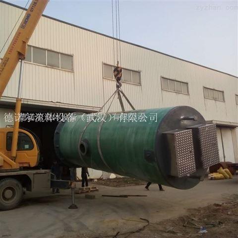 广西一体化污水提升泵站 玻璃钢 污水