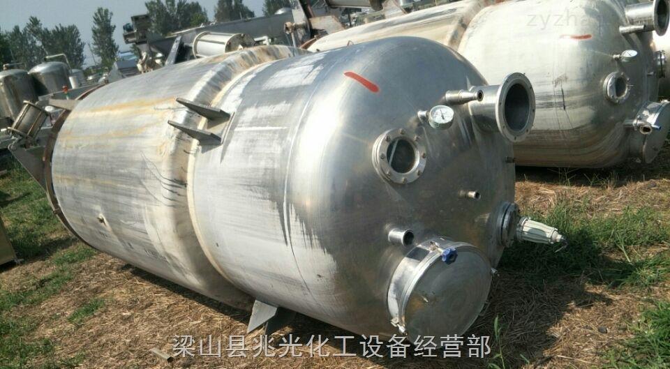 二手6000L不锈钢动态静态直筒式提取罐转让