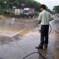 濰坊廣場用移動式冷水除銹高壓清洗機