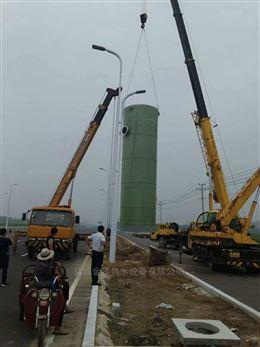 3米一体化污水泵站截污和景观改造工程