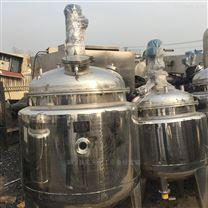 二手500升食品用全不銹鋼電加熱反應釜轉讓
