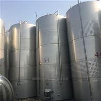 二手50吨立式单层不锈钢食品级抛光储罐