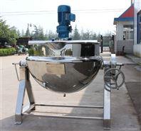厂家直销食品级夹层锅反应釜设备电加热搅拌