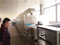 小麦胚芽熟化设备,微波干燥设备