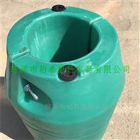 浮台生产厂家水电站 拦污浮筒塑料浮筒厂家