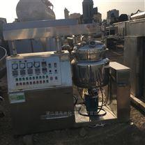 購銷二手500升真空均質乳化機 電加熱乳化鍋
