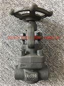 焊接锻钢截止阀FJ61H-100高压