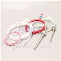 硅胶导线式热电阻PT100三线