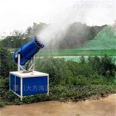 沙场降尘雾炮机除尘桥梁建设喷雾机