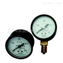 Y-50 A17普通压力表 罩壳式紧式0.1-6MPa