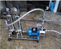 不锈钢304卫生级防爆酒用过滤机设备特点