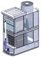 万享ORC用板片蒸发式冷凝器