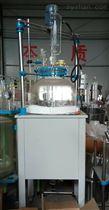YDF20-100L大口径单层玻璃反应釜参数