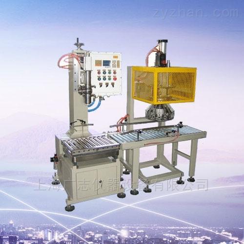 溶剂灌装机-25kg油漆灌装机18升固化剂装桶机油漆包装机