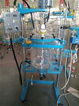 双层玻璃反应釜高硼硅玻璃安全可靠