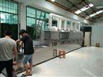 XH-100KW胎菊微波杀青烘干设备