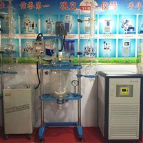 變頻調速雙層玻璃反應釜標準型經濟實用