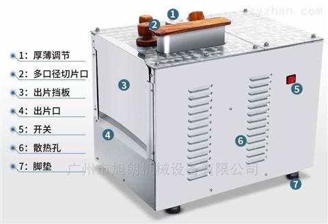 加强型可调节式中药材切片机