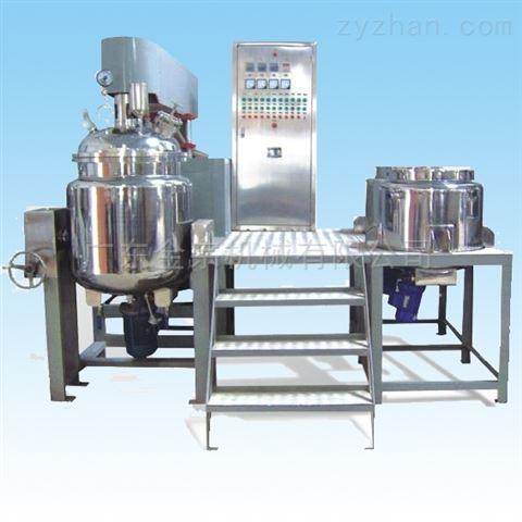 专业真空乳化搅拌机制膏机细化物料药品设备