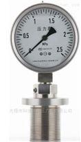 不锈钢卫生型隔膜压力表