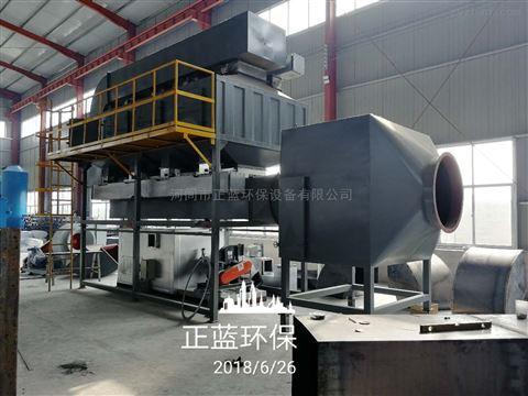催化燃烧工作原理图,河北环保设备生产厂家