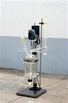 实验室防爆双层玻璃反应釜