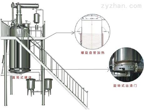 LTQ型螺旋管加热提取罐