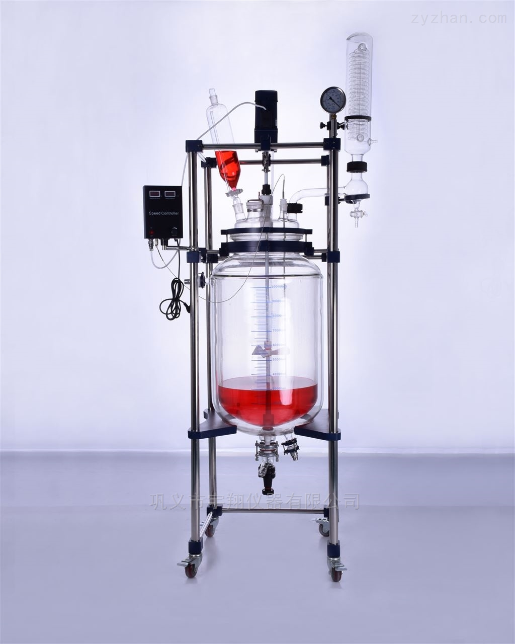 100L玻璃反应釜