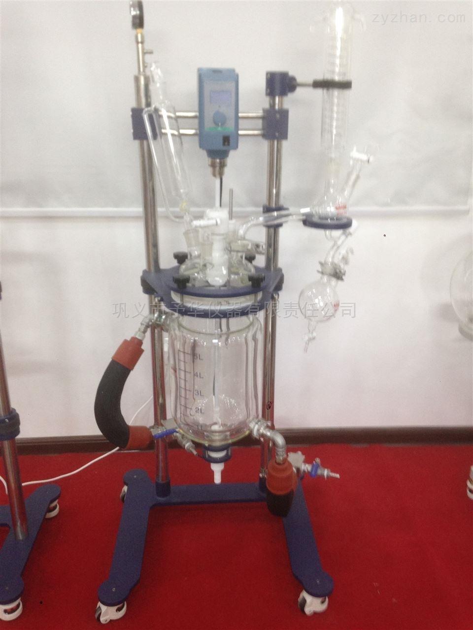 实验室小型双层玻璃反应釜结构合理