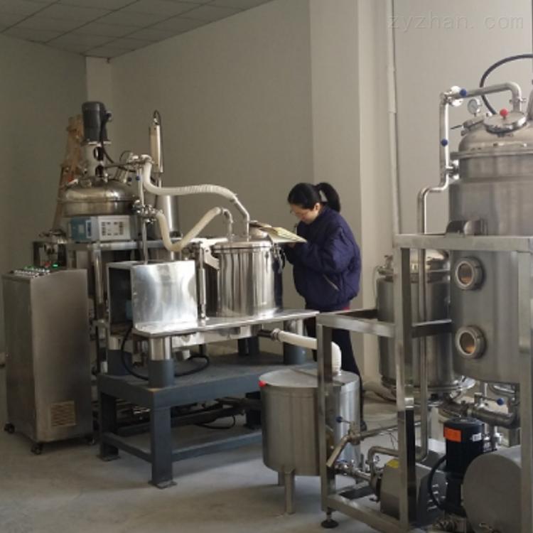 上海矩源高效动态提取浓缩设备立式结构