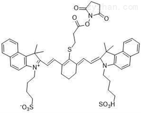 IR820 NHS ester,新吲哚菁绿琥珀酰亚胺酯