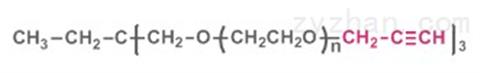 三臂聚乙二醇炔,3-arm PEG-Alkyne