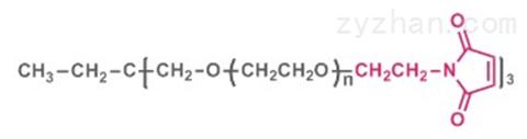 三臂聚乙二醇马来酰亚胺(醚键)
