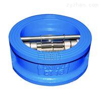 不锈钢对夹式水锤压力小的止回阀