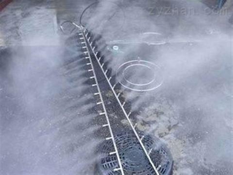 工業降塵噴霧機 噴霧加濕器降塵效果
