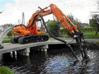 沿海清淤挖机沙石泵 液压挖机操控排沙泵