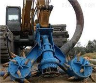 挖機液下式抽沙泵-高耐磨挖機渣漿泵