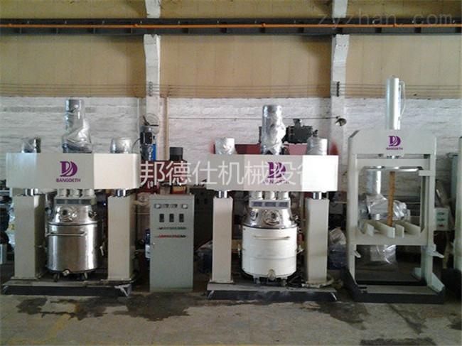 广东100L强力分散机 硅酮密封胶生产设备