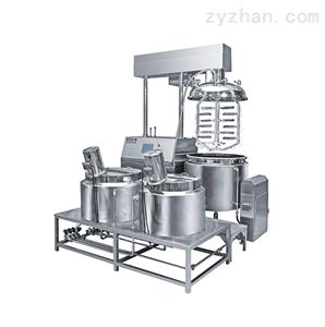 真空乳化搅拌机PLC控制系统